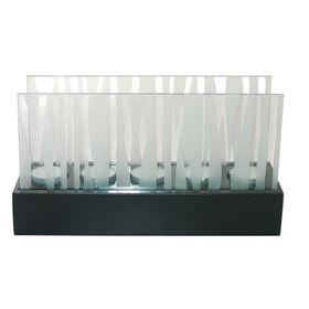set-x-5-porta-velas-nouvelle-cuisine-con-base-de-madera-y-vidrio-esmerilado-1113307-50001851