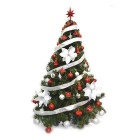 arbol-de-navidad-premium-1-50-mts-con-kit-rojo-plata-48-piezas-50001930