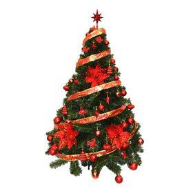 arbol-de-navidad-premium-1-50-mts-con-kit-rojo-48-piezas-50001915