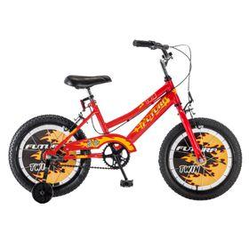 bicicleta-futura-twin-infantil-rodado-16-color-rojo-y-negro-560325