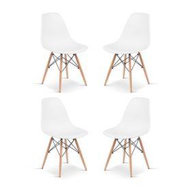 set-de-4-sillas-de-plastico-y-madera-blanco-eames-50002668