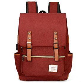 mochila-15-beurer-carga-usb-rojo-50002015