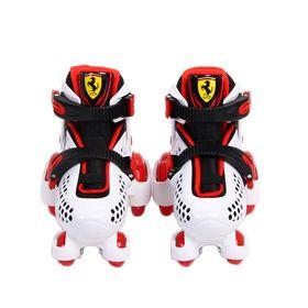 patines-para-ninos-ferrari-fk10-blanco-talle-30-33-extensible-con-casco-10015556