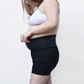 short-de-gabardina-maternal-con-faja-elastizada-talle-xs-on-the-go-negro-50003588