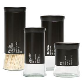 set-de-4-frascos-diferentes-tamanos-nouvelle-cuisine-vidrio-negro-novo-1990420-10013560