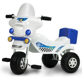 Triciclo-Kuma-Policia-Blanco