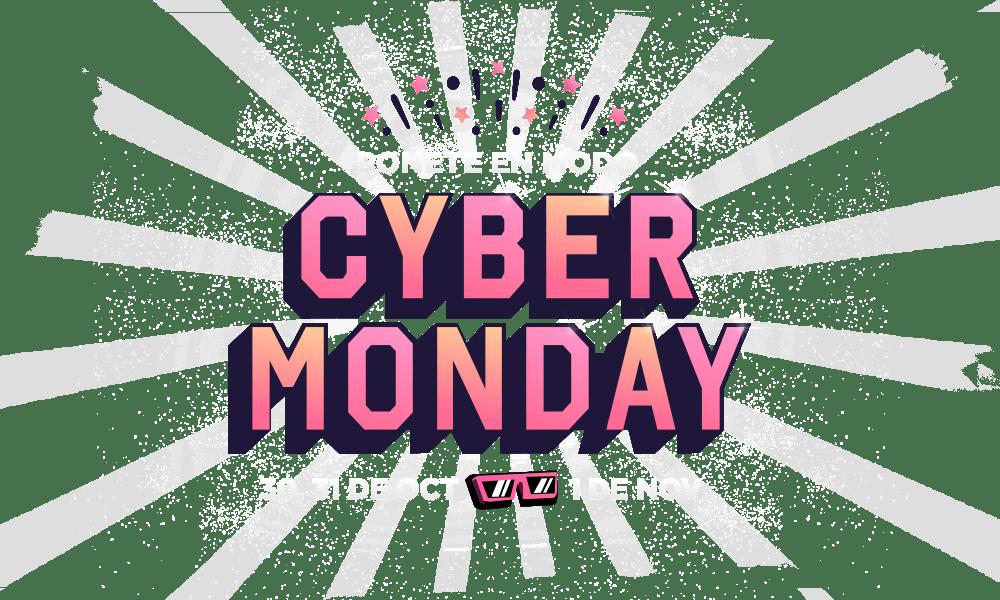 Logo Cyber Monday Fravega