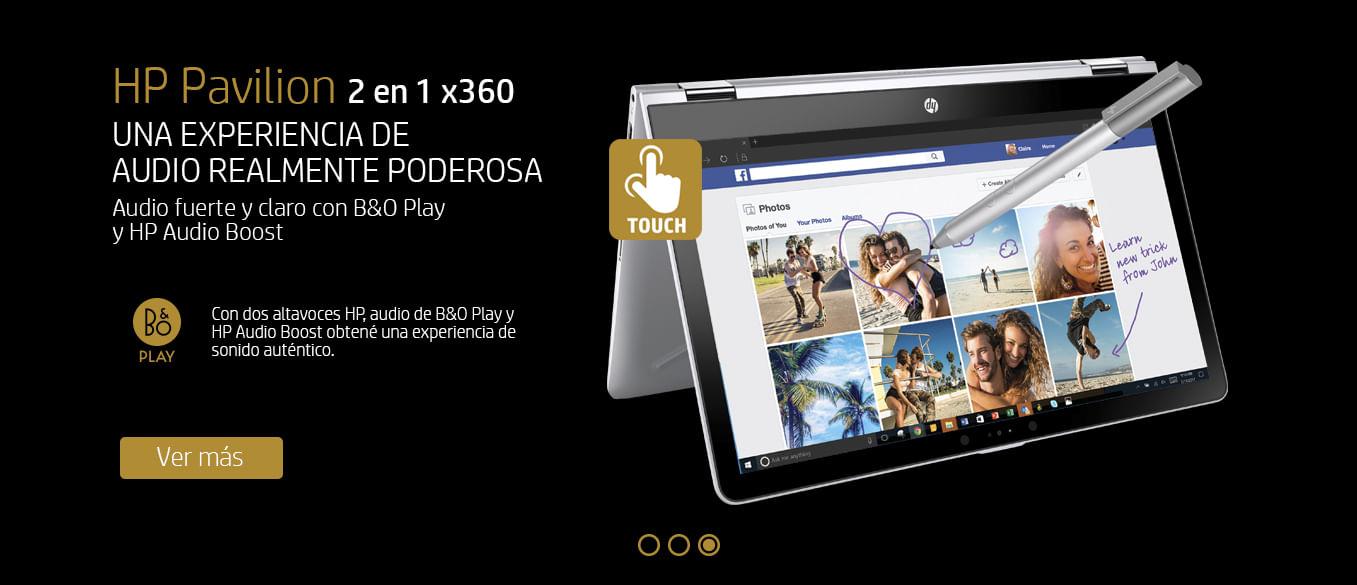 HP Pavilion x360 en Fravega